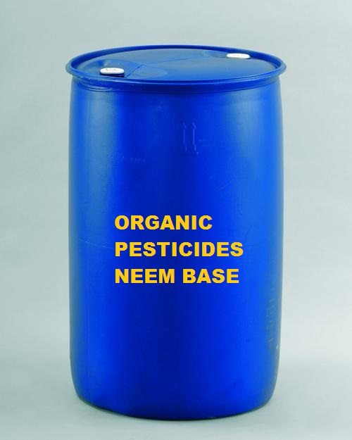 Organic pesticides neem base